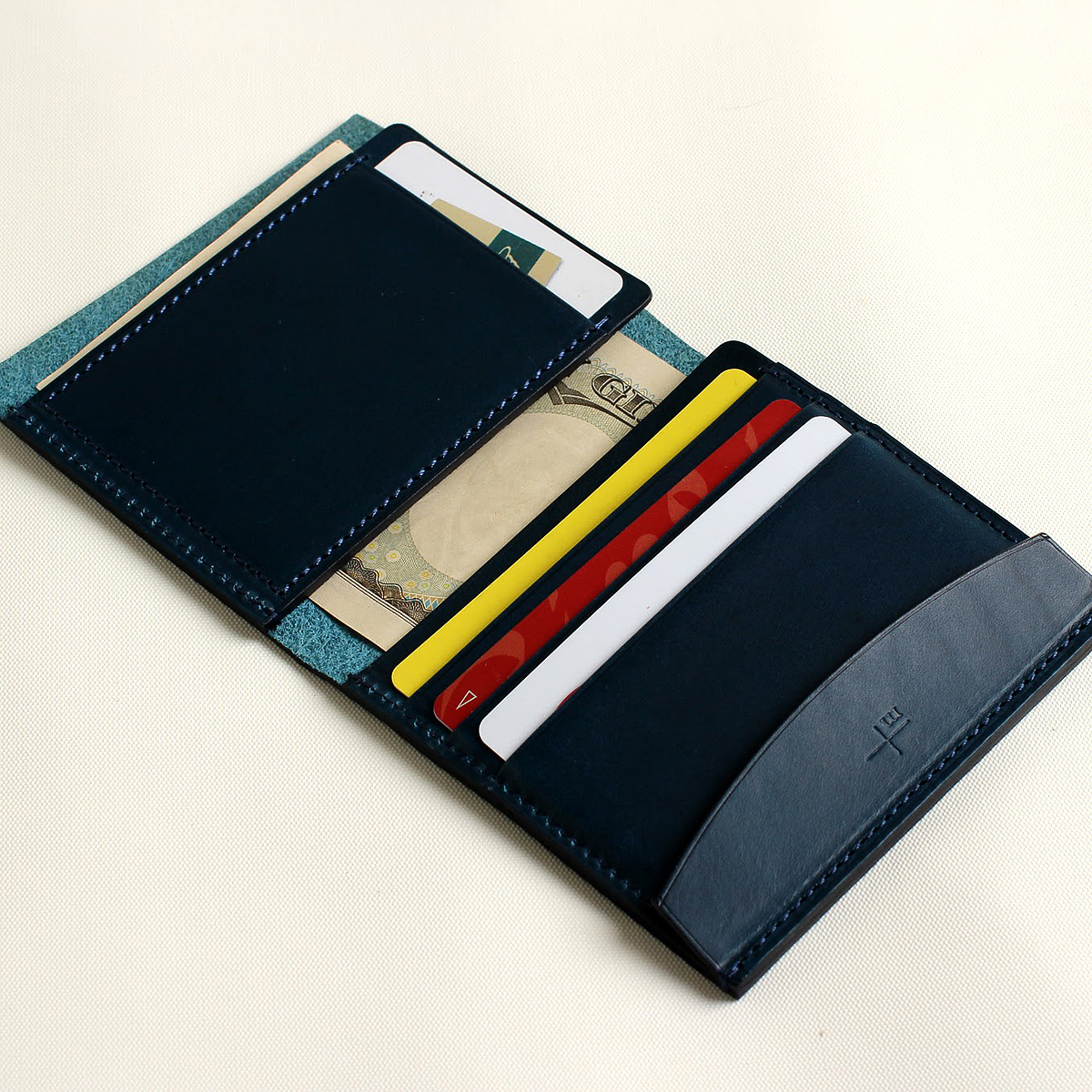 FERMA WALLET Short blue