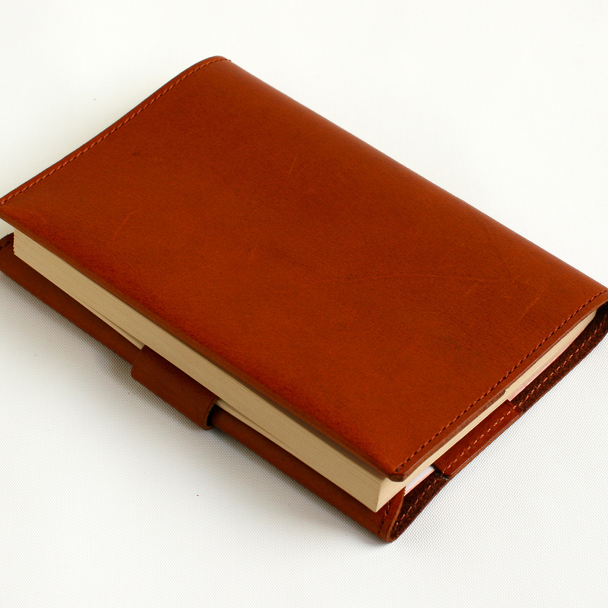 BOOK COVER BASIC brown