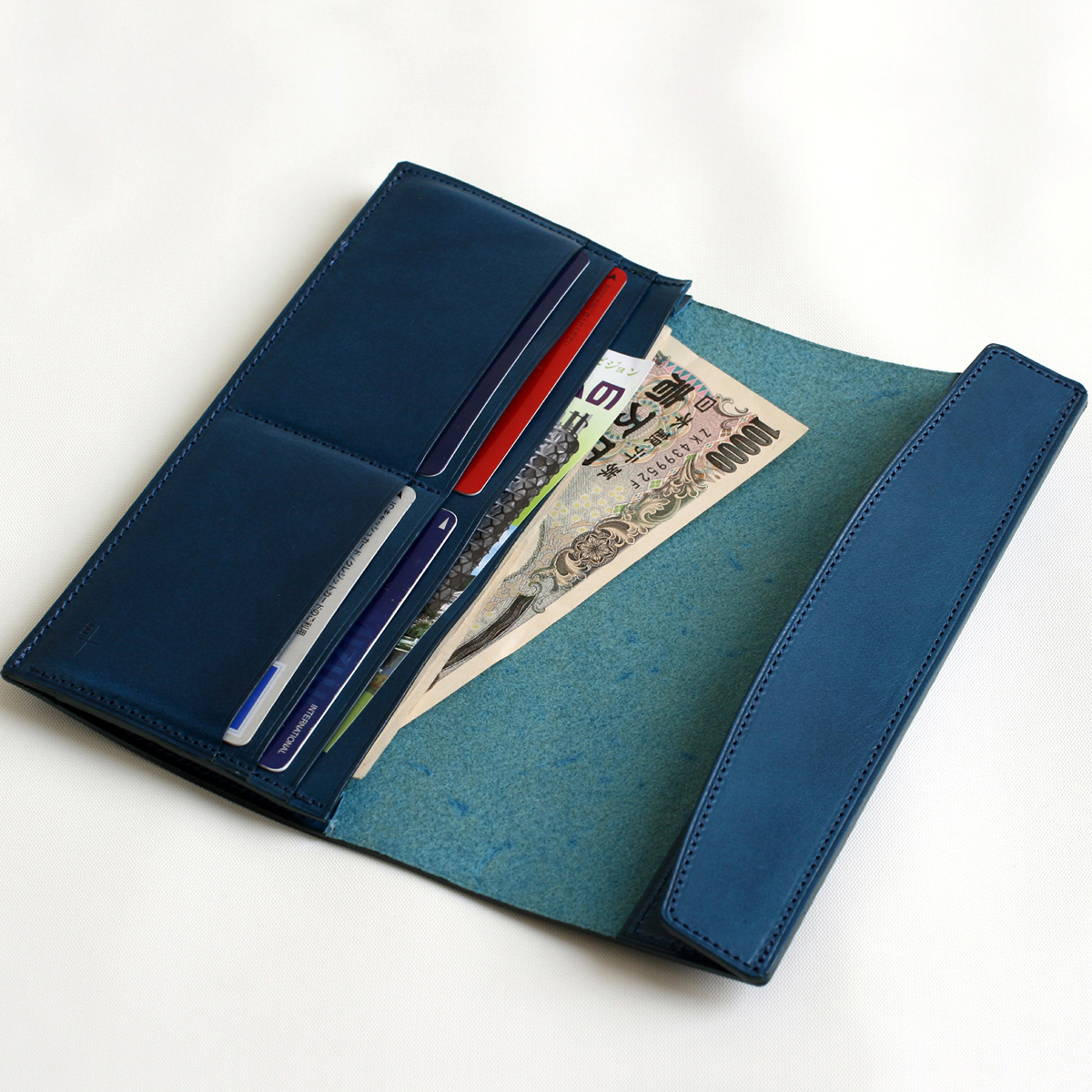 FERMA WALLET Long blue